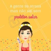 Quem concorda? 😂 #protetorsolar #esteticafacial #ahazouestetica #engracado