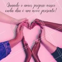 Amor próprio é tudo ! ❤ #amorproprio #autosestima #ahazou #frase #motivacional