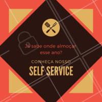 Ainda não conhece a gente? Comece seu ano aqui, experimente o nosso delicioso self service! #selfservice #restaurante #hazougastronomia #anonovo