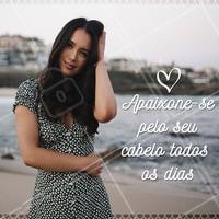 Você merece se apaixonar todos os dias pelo seu cabelo 💇❤️️ Venha se cuidar aqui! #cabelo #ahazou #autoestima #cabeleireiro #inspiraçao