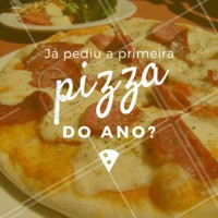 Peça já a sua! 🍕 #pizza #pizzaria #ahazou #delivery #delicia