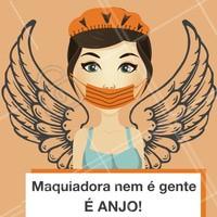 Quem concorda dá um like! rs ❤️👏 #ahazou #maquiagem #beleza #anjo