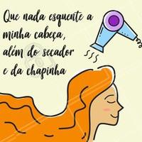Fica a dica! 😂👌🏼 #secador #chapinha #ficaadica #esquentar #ahazou #cabelos