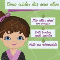 Vem conferir!! 😉💕 #cilios #beleza #ahazou #cuidados