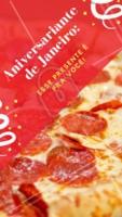 Comemore o seu aniversário na pizzaria XXX e curta as promoções! 🍕 #promocao #pizzaria #ahazou #aniversario #janeiro