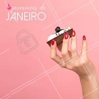 Confere só os precinhos especiais desse mês! #janeiro #manicure #pedicure #Unhas #ahazou #promoçao #promocional #promoçoesdomes