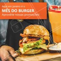 É promoção que você quer? Então aproveite os nossos preços especiais para vocês aproveitarem durante todo o mês. #hamburguer #burger #ahazouhamburguer #promocao #janeiro #mesdepromocoes