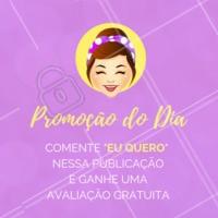 Comente aqui embaixo para ganhar uma avaliação gratuita! Aproveite!#promocao #ahazou #esteticafacial