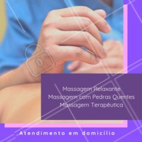 Escolha a massagem ideal para você, e apenas relaxe. Cuidamos do seu corpo e da sua mente! 💆✨ Agende já o seu horário! #massoterapia #ahazou #terapiascomplementares #saude #bemestar
