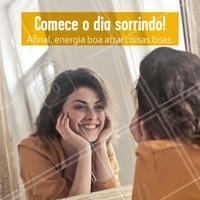 Vamos sorrir! Bom dia gente ❤️ #bomdia #ahazou #inspiraçao