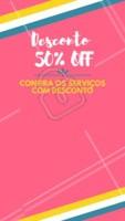 Confere só os precinhos especiais desse mês! #promoçao  #ahazou#promocional #promoçoesdomes