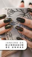 Janeiro é mês de RENOVAÇÃO!! Venha renovar suas unhas 😍 #unha #ahazou #janeiro #manicure
