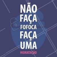 Fica a dica! 😘🐍 #fofoca #gossip #ahazou #hidratacao #cabelos