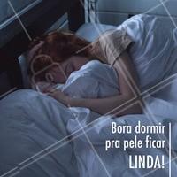 Boa noite, meninas! Lembrem-se que dormir renova a pele e deixa ela mais linda 😍 #esteticafacial #ahazou #cuidadoscomapele