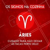Hahaha quem concorda marca o seu ariano(a) favorito aqui! ♈ #signos #cook #ahazou #astrologia #aries