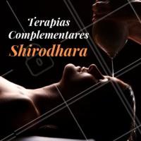 Shirodhara é o fluxo de óleo morno sobre a testa logo acima das sobrancelhas, sobre a região do Ajna Chakra (terceiro olho). É uma das mais divinas e relaxantes terapias que se possa experimentar. Após essa terapia o paciente irradia frescor na pele, saúde, vitalidade e profundo bem estar, demonstrando sorriso e serenidade. #shirodhara #terapiacomplementar #ahazou #terapias #saude #bemestar