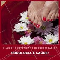 A podologia é essencial para cuidar da saúde dos pés! #podologia #ahazou #pes
