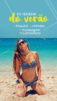Bora arrasar nesse verão meninas. Agende já seu horário! #esteticacorporal #massagemmodeladora #massagem #summerahz