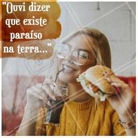 """""""E coisas que só entendi quando te conheci..."""" 😍😍  Aquela paixão chamada hamburguer!  #hamburguer #ahazou #hamburgueria"""