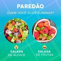 Entrando no clima de BBB, responde aí: quem deve ser eliminado nesse paredão? 😱 #comidasaudavel #ahazou #marmitasfitness #marmitasaudavel
