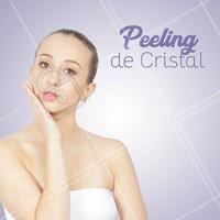 Peeling de cristal é uma boa opção para tratar manchas, rugas e estrias. Agende já o seu ! #ahazou #peeling