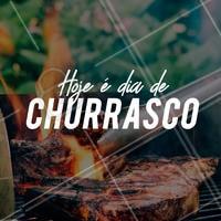 Chama a galera que hoje é dia de churras! #ahazou #churrasco