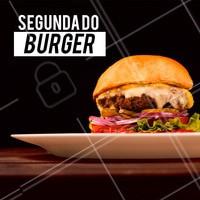 Chegou a segundona do Burger! Vem pra cá #hamburguer #ahazou