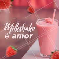 Muito amor envolvido! ❤️️❤️️❤️️ #milkshake #doces #ahazou #euamo