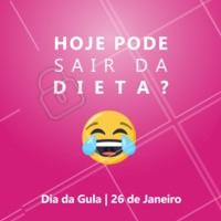 Hoje tá permitido dar aquela exageradinha, né? 😝 #diadagula #amocomer #ahazou #tchaudieta