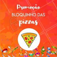Que tal esse Esquenta de Carnaval? Aproveite a promoção e venha pro nosso bloquinho! 🍕🍕 #pizza #ahazou #carnaval #Pizzaria