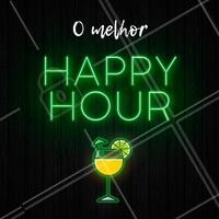 Seu melhor happy hour é aqui! #happyhour #ahazou #bar #drinks