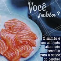 Quem aí ama um salmãozinho? Saiba que além de delicioso, esse peixe tem qualidades benéficas para a saúde! #salmao #ahazou #comidajaponesa