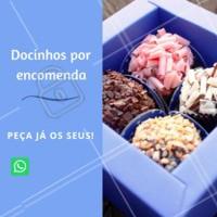 Precisando de docinhos  para a sua festa? Entre em contato conosco! #doces #confeitaria #ahazou #festa #evento #encomendas