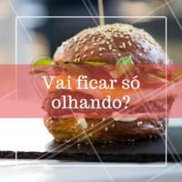 Não vai ficar na vontade! Peça já o seu hambúrguer  🍔 #hamburguer #ahazou #Hamburgueria