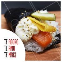 Marca aqui aquele amigo que você ama, ops, que ama temaki! ❤️ #temaki #ahazou #comidajaponesa