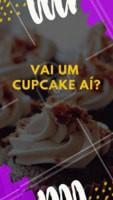 Experimente nossos deliciosos cupcakes. #doces #loucospordoce #ahazoudoces #cupcake #confeitaria