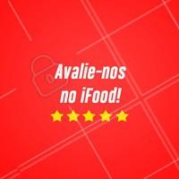 Não deixe de nos avaliar no Ifood! #ifood #ahazou
