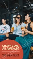Junte as amigas e venha desfrutar de um dia/noite incrível! Esperamos por vocês. Vem! #happyhour #amigas #ahazoubares #chopp #drinks #juntaasamigas