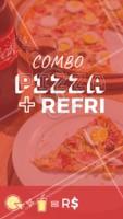 🍕 Peça já a sua! ☎️ XXXXXX #pizza #pizzaria #ahazouapp #promoção #combo