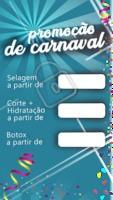 Que tal uma promoção de carnaval para deixar as madeixas ainda mais lindas? É cada promoção incrível que você não vai querer pular fora 💃 #carnaval #ahazou #cabelos