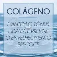 O colágeno é um agente poderoso para a boa aparência e saúde do rosto.  A principal função dessa proteína é servir de sustentação para a estrutura da pele, mantendo o tônus, firmeza e a resistência. Como anda a produção de colágeno da sua pele? Ligue e agende um horário! #colageno #dica #esteticafacial #collagen #skincare #postit #ahazou #facetoface #peledeporcelana #braziliangal #perfectface #perfectskin #vocesabia