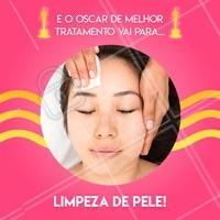 Quem ai também acha que a limpeza de pele merecia um prêmio por ser tão maravilhosa? 🏆 #limpezadepele #ahazou #esteticafacial #estetica