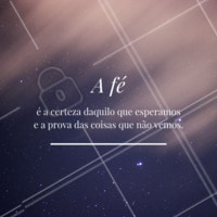 Nunca perca a fé ✨ #fe #deus #universo #ahazou #frases #inspiracao