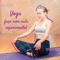 Temos diversas modalidades para você. Faça uma aula experimental e mude de vida com Yoga! #yoga #aulas #ahazousaude #saude #bemestar #amorporyoga
