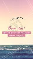 Bom dia a todos!! 😉 #bomdia #ahazou #frases #motivacional