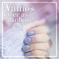 Venha viver com unhas lindas! Você merece. 💅 #manicure #ahazou #unhas