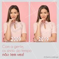 Nós estamos amando ver o #10yearschallenge de vocês, e claro, tínhamos que participar também! 🤗  #10yearschallenge #tenyearschallenge #desafiodezanos #desafio10anos #desafioaceito #timeline #linhadotempo #congelaotempo #ahazou #esteticafacial #estetica #esteticaporamor #belezanatural #fontedajuventude #colageno #antiage #antiidade #kbeauty #braziliangal #brazilianbeauty #skincare #cleanskin #cuidados #beautyforever #meme #trend #challenge
