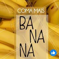 A banana tem níveis elevados de triptofano, aminoácido precursor da serotonina, o que é ótimo para o seu sono e bem-estar!  #maisfrutas #alimentaçãosaudável #saude #frutadodia #dicadesaude #dicadobem #bemestar #health #fruit #juice #braziliangal #brazilianfood #beauty #body #ahazou #beleza #natural #vidanatural #dieta #brazilianfruit #tips #quot #corpo #natureza