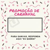 Promoção especial de carnaval. Aproveite! 💜✨ #promocao #ahazou #carnaval