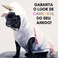 Venha garantir o look de carnaval do seu amigo, não deixe ele de fora dessa! ❤️️😂  #pet #petshop #ahazoupet #carnaval #look